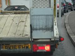 Spring squiggles (stevenbrandist) Tags: ramp spring scratch road pattern traffic queue