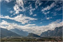 Monte Brione (tosch_fotografie) Tags: berg berge wasser see gardasee riva del garda torbole nago blauer himmel wolken weitwinkel sommer sonne landschaft hgel wald felsen aussicht sony rx100 mountains water blue sky clouds landscape summer sun