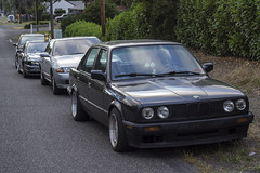 squad (Michael Dees) Tags: cars nissan r32 bmw s13 s14 e30 euro jdm imports dirt nasty low