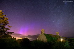 Purple Spikes - Aurora Borealis, Embleton, Northumberland