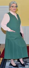 Ingrid022794 (ibach411) Tags: pleatedskirt faltenrock waistcoat weste mature