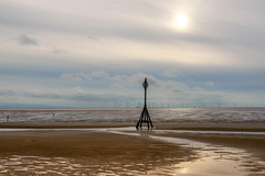Seascape - Mersey Estuary from Crosby (Chris Scopes) Tags: crosby landscapes seaside seascape landscape
