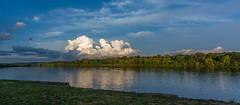 _DSC0027-Pano (johnjmurphyiii) Tags: 06416 clouds connecticut connecticutriver cromwell originalnef riverroad sky summer tamron18270 usa johnjmurphyiii pano panorama stitch