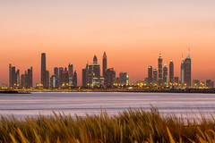 The Terrace, Dubai Creek Harbour - United Arab Emirates (Dutchflavour) Tags: unitedarabemirates dubai uae theterrace dubaicreekharbour cityscape citylandscape citylights creek sunset sky skyline