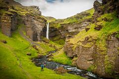 Colbyfoss (KrissyM_77) Tags: waterfall iceland valley water june summer hidden colbyfoss skogar skogarfoss