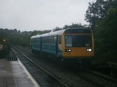 142073 @ Eastbrook (ianjpoole) Tags: arriva trains wales 142073 working 2y31 aberdare barry island
