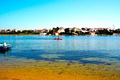 Vila Nova de Milfontes | --- (Antnio Jos Rocha) Tags: portugal alentejo rio gua oceano mira atlntico barco remar cais cores vilanovademilfontes vila povoao praia frias