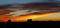 new sunset season. (my own limbhad.) Tags: sunlight sunset sun gold golden spain madrid cloud clouds cool canon eos 600d t3i color colourful colorful colour city cs6 contrast blue skyline sky shape photo photography picoftheday photoshop pic summer autumn beautiful