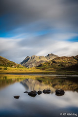 Blea Tarn (Bogtramp) Tags: autumn england bleatarn lakedistrict water cumbria tourist longexposure westyorkshire fal langdale harrisonstickle kitching langdalepikes nikon landscape bigstopper leefilters county tourism uk tamron1530