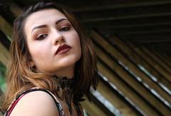 Samantha (kyle.moeglin) Tags: girl woman lines depth portrait outside nature burgundy poise canon rebel t6