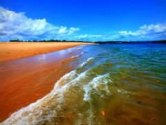 Beach @ Barra Grande (Carla & Bruno) Tags: ocean brazil praia beach water gua brasil mar sand areia bahia oceano mara pennsulademara barragrande