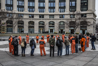 Witness Against Torture: Navy Memorial Circle
