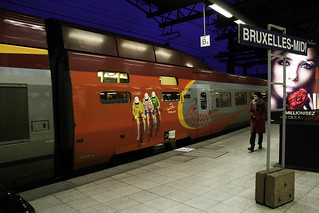 Belgique - Bruxelles - Gare du Midi (Vol 1) - Thalys