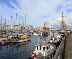 IMG_1685 (Paco Gonzlez1) Tags: puerto muelle corua barco cuttysark 2012 velero tallshipsrace trasatlantico