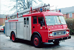 VBC9813 (Emergency_Vehicles) Tags: station fire leicestershire pump dodge service 1990 coalville vbc 9813 vbc9813