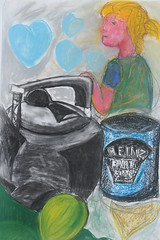 "Tea ,and Sympathy. Pastel and charcoal on paper A1 • <a style=""font-size:0.8em;"" href=""http://www.flickr.com/photos/91814165@N02/8398334774/"" target=""_blank"">View on Flickr</a>"
