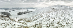 Knap Hill (lovestruck.) Tags: county uk winter england panorama white snow cold ice weather sony wiltshire altonbarnes valeofthewhitehorse 2013 rx100 challengeyouwinner knapphill