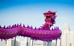 End of Dragon Year! (Sadashiva T S) Tags: dance nikon singapore dragon 85mm chinesenewyear dragondance marinabay waterfrontpromenade d700 nikond700 nikonafs85mmf14g rhythmsbythebay mainabaywaterfrontpromenade