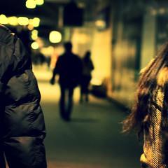 Urban Chronicles ~ Paris ~ MjYj (MjYj) Tags: life city light sunset bw woman motion paris sexy love beauty silhouette seine contrast dark soleil pretty solitude noir close lumire femme bleu amour eden miles davis reflets chronicles passant encounters espoir img9522 mjyj mjyj