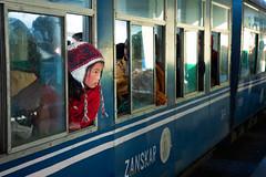 Kid On Train (Satyaki Basu) Tags: street travel boy people india train canon eos kid ride indian joy railway places hills bengal darjeeling himalayas westbengal 1755 explored 450d queenofhills gettyimagesmiddleeast