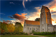 Bryn Athyn Cathedral (Jas Bassi) Tags: sunset summer church nikon cathedral pa philly jas bucks buckscounty brynathyn 2470mm brynathyncathedral brynathynchurch jasbassi pennsalvaniya jasbassiphotography