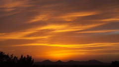 Feb 8 2013 sunset 2 (dangerousmeta) Tags: sunset newmexico santafe eldorado
