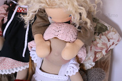 Who is it? (Fig & Me) Tags: dolls play natural handmade muecas puppen lalka poupes popje ningyou stoffpuppe figandme