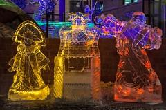 New Year ice sculpture in Irkutsk (Valery Chernodedov) Tags: winter light ice irkutsk icesculpture rememberthatmomentlevel1