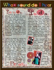 LOAD 213 day 15 scrapbook a sound page 1 (ClaudiaCloud9) Tags: scrapbook day 15 sound load 213