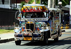 Jeepney on Mabini Street (KanoWithCamera) Tags: philippines manila