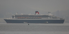 "RMS ""Queen Mary 2"", Tseung Kwan O, Hong Kong (Daryl Chapman's - Automotive Photography) Tags: ocean sea canon boat is ship vessel ii cruiseship 5d qm2 queenmary2 cunard f28 sar tko liner cruiseliner mkiii tseungkwano hongkongchina"