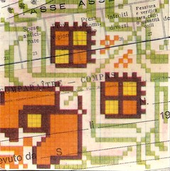 pattern- tasse (kurberry) Tags: collage crossstitch ephemera tissuepaper tracingpaper magazinepages bookpages vintageephemera bookbindingteam