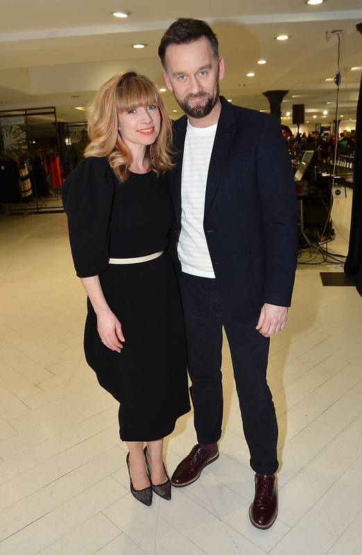 Sonya Lennon and Brendan Courtney launch their new fashion line \'Lennon Courtney\' at Arnotts Featuring: Sonya Lennon,Brendan Courtney - WENN.com