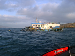 work (leanish) Tags: seaweed work salmon cage akva salmonfarming marineharvest polarcickel