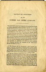 Comrie Gas Light Co, 1852 (P&KC Archive) Tags: history industry scotland 19thcentury perthshire document civic localhistory amenities strathearn ecsochistory workingarchive