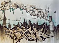 ...y tu boca tambien. (MR. BURNHUMANZ) Tags: espaa graffiti spain huelva cream andalucia crew graff abdt abasedetaker