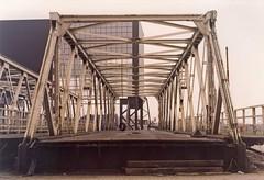 Voormalige brug Kampen (tomborger) Tags: brug pentax67 vakwerkbrug brugkampen