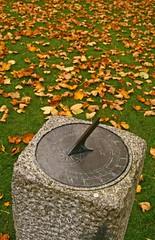 Timeless (RoystonVasey) Tags: park autumn ireland castle leaves canon garden eos zoom sigma eire sundial national donegal glenveagh gleann 1770mm bheatha 400d pirc nisinta