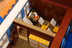 Blueberry Elementary, art studio (RedCoKid) Tags: building lego modular