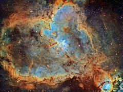 The Heart Nebula IC 1805 Hubble Palette APOD (Terry Hancock www.downunderobservatory.com) Tags: camera sky monochrome night stars photography mono pier back backyard day fotografie heart photos thomas space shed picture science images astro apo m observatory telescope nebula astrophotography astronomy imaging ccd universe cosmos apod paramount luminance the lodestar teleskop astronomie byo cassiopeia refractor deepsky f55 astrograph ic1805 autoguider starlightxpress tmb92ss mks4000 gt1100s qhy9m sh2190