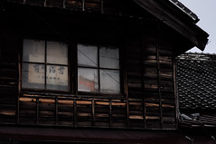 _DSC1779 (Kohji Iida) Tags: street old house bicycle silhouette japan photography japanese 50mm nikon bokeh gear rainy 18 hang kohji tsuchiura ibaraki iida d90