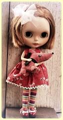 Emilie's new dress