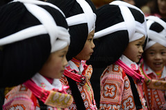 CHINA (BoazImages) Tags: china festival rural asian asia feminine traditional chinese culture documentary tribal longhorn festivity tradition guizhou miao minority hmong hilltribe minorities longga boazimages suoga