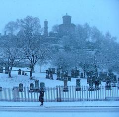 Monteath Mausoleum - Snow 1