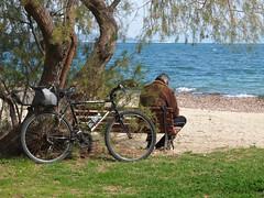 repose (georgedks) Tags: bicycle see fuji rest x10