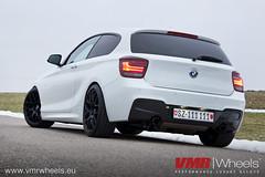 VMR Wheels V710 Matte Black- BMW M135i (VMR Wheels Europe) Tags: black wheels bmw 18 v710 matte vmr alufelgen felgen m135i alurder
