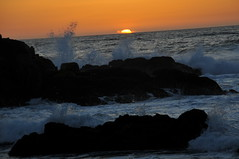 DSC_1353 (HockeyholicAZ) Tags: california sunset monterey surf spray asilomar rockybeach pointpinos pointpinoslighthouse