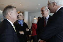 Senator Graham Caroline Kennedy and Ambassadors Vale de Almeida and Collins at JFK Presidential Library