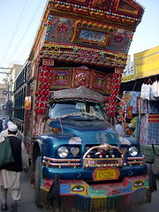 Customized and Decorated Truck, Peshawar, Pakistan (tyamashink) Tags: pakistan