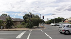 Winston Ave/Edward St intersection (RS 1990) Tags: new old red trafficlights green lens march amber mar post eagle walk siemens pedestrian junction pole powerlines signals cables button adelaide dontwalk intersection crossroads southaustralia audio aldridge ats pedestal tactile mitcham edwardst stobiepole 2013 melrosepark colonellightgardens winstonave bracketry durasig driveunit dawpark